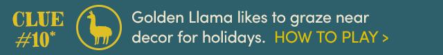 Golden Llama Treasure Hunt* Day 10. How To Play ›
