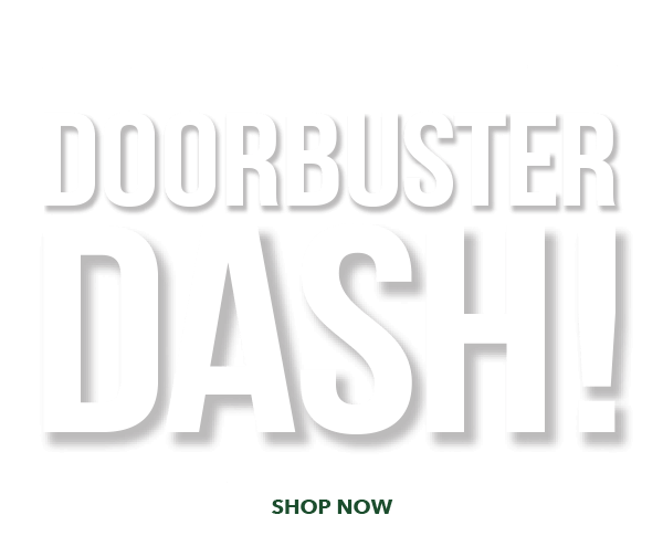 Ends Tomorrow! Doorbuster Dash Save Up To 70% Thurs-Sat, Nov 9-11. SHOP NOW.