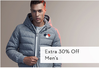 Extra 30% Off Men's