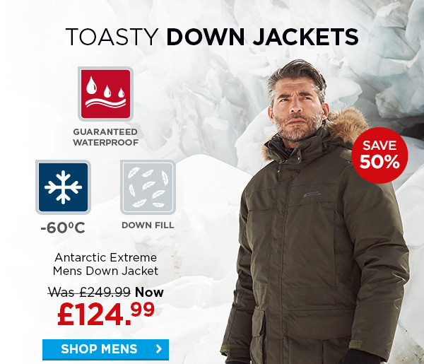 b368f1877 Mountain Warehouse: Winter Jackets | Up To £125 Off | Milled