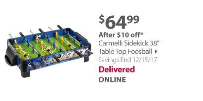 "Carmelli Sidekick 38"" Table Top Foosball"