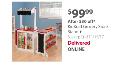 KidKraft Grocery Store Stand