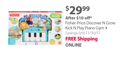 Fisher-Price Discover N Grow Kick N Play Piano Gym