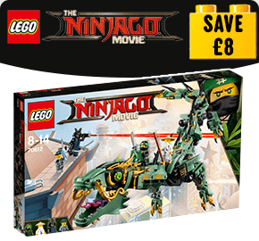 LEGO 70612 Ninjago Movie Green Ninja Mech Dragon