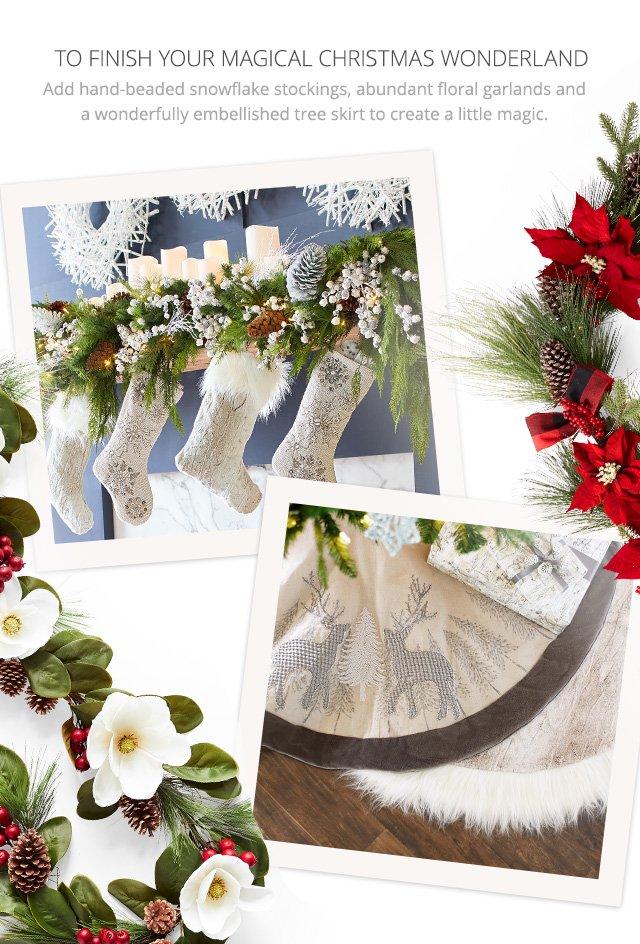 To finish your magical Christmas wonderland, shop all Christmas.