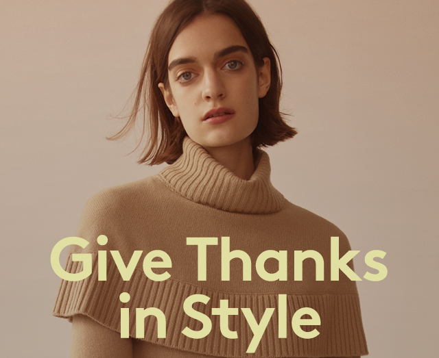 Elegant outfits to add to your gratitude list.