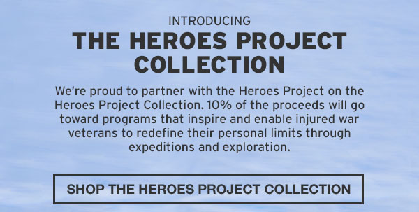 THE HEROES PROJECT COLLECTION | SHOP NOW