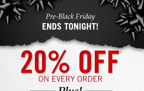 Pre-Black Friday Savings Event!