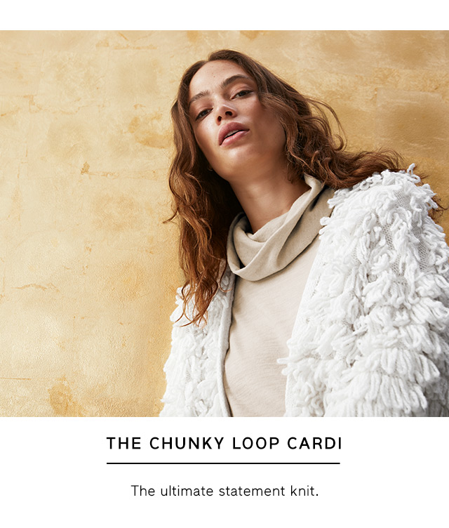 THE CHUNKY LOOP CARDI