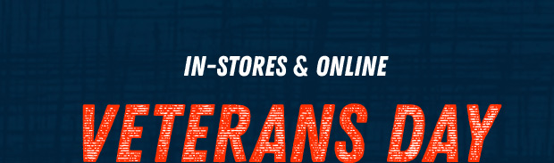 HOURS LEFT: VETERANS DAY SALE - Extra 50-70% All Clearance