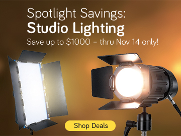 Studio Lighting banner