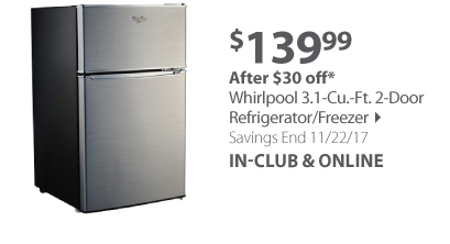 http://www.bjs.com/whirlpool-3-1-cu--ft--2-door-refrigerator-freezer.product.265625