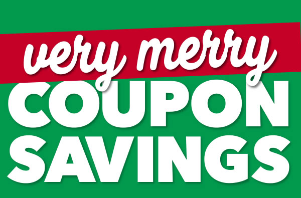 Very Merry Coupon Savings!
