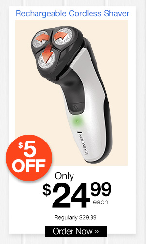 Rechargeable Cordless Shaver
