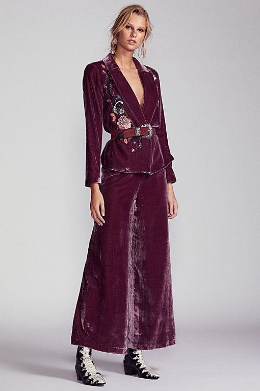 Perfect Illusion Velvet Suit
