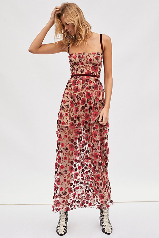 Beatrice Strappy Maxi Dress