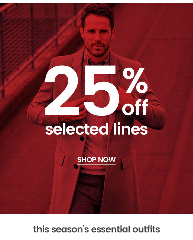 e0fac85c1 Burton Menswear: 25% off selected lines + instant Winter outfits ...