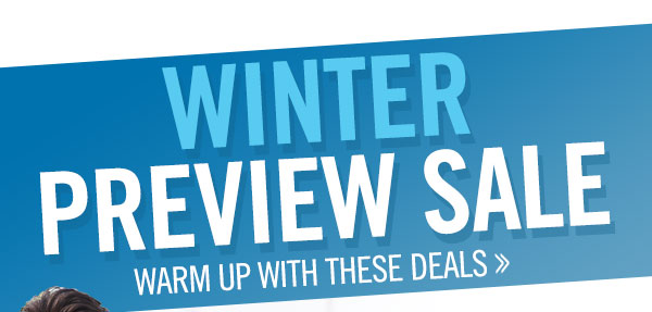 Men's Winter Preview Sale