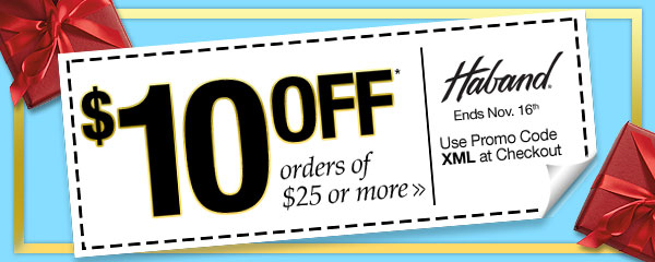 $10 off all orders of $25 or more!
