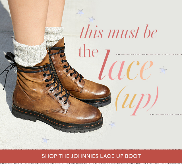 Shop Johnnie's Lace Up Boot