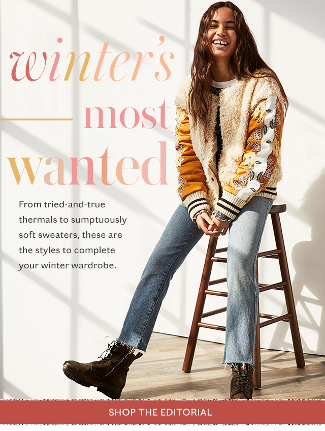 Shop the Winter's Most Wanted Lookbook