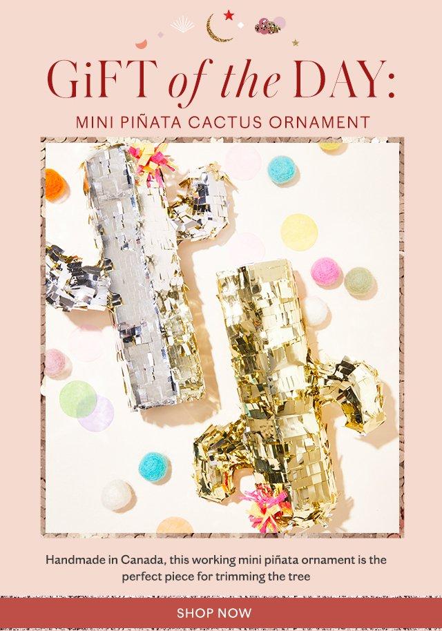 Shop the Cactus Ornament