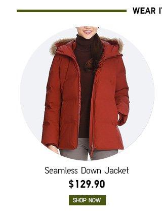 Women Seamless Down Jacket $129.90 - Shop Now