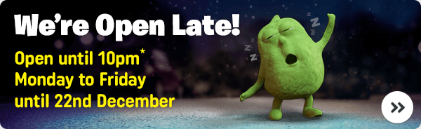 Open 'till Late in-store