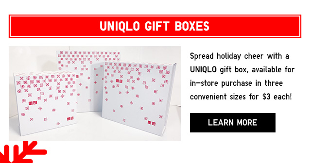 UNIQLO GIFT BOXES - Learn More