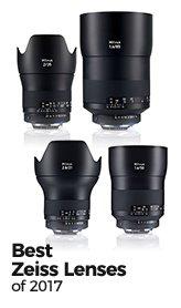 The Best Zeiss Lenses of 2017