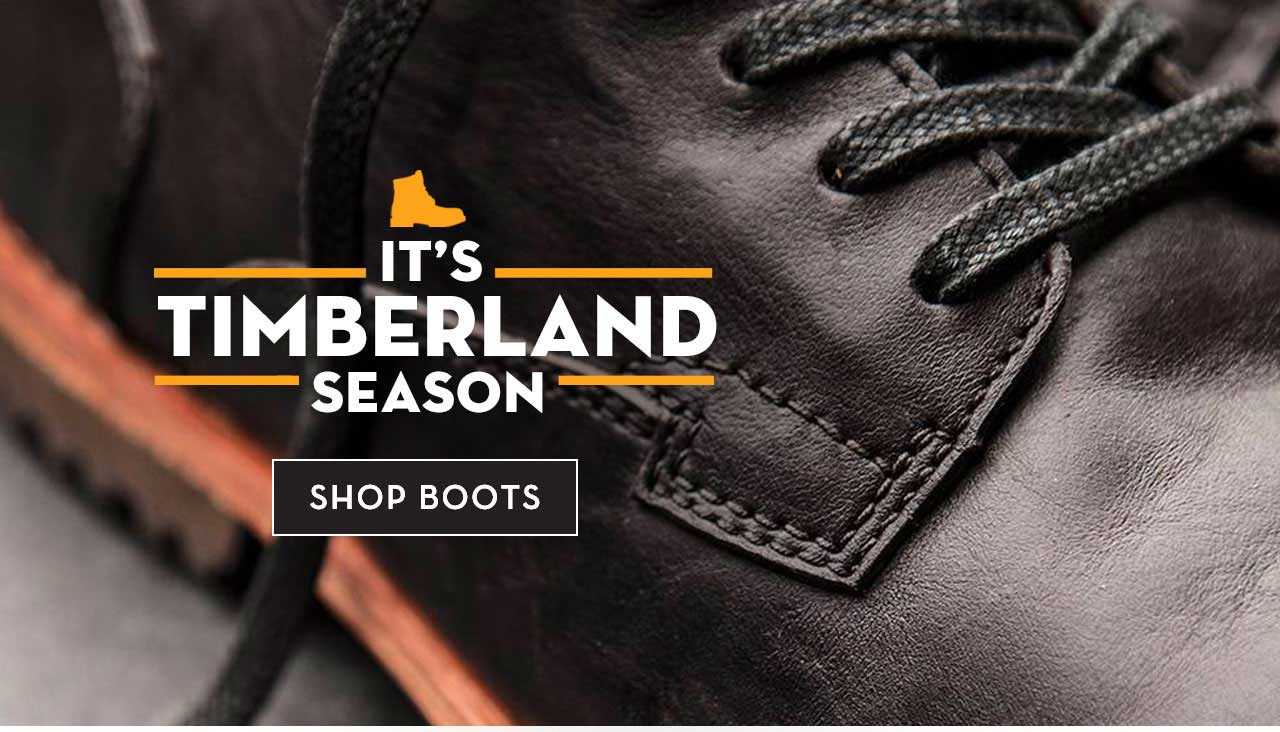 It's Timberland Season Shop Boots
