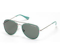 Metal Color Aviator Sunglasses