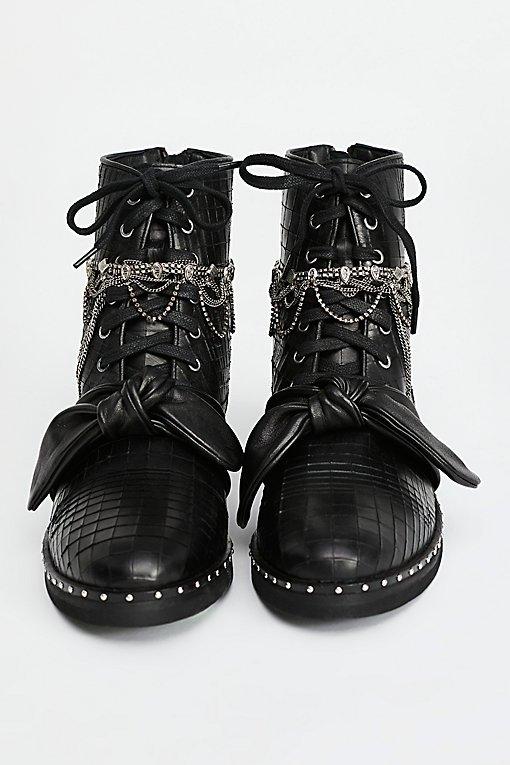 Magic Jewels Lace-Up Boot