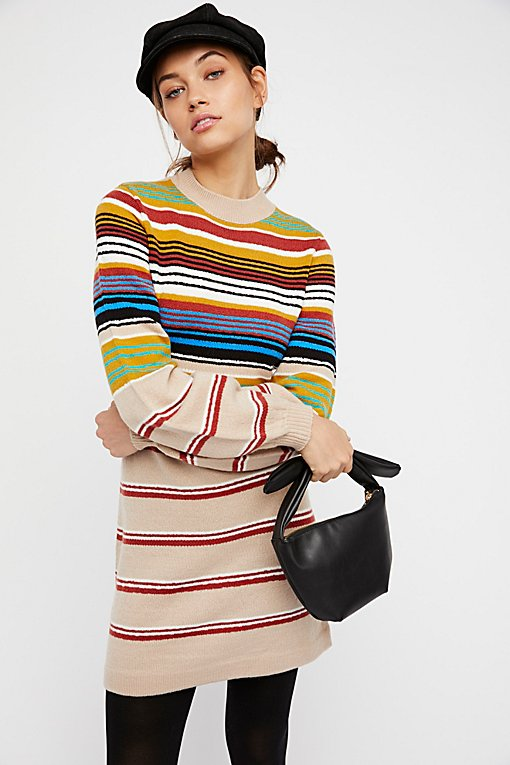By The Fire Sweater Dress