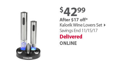 Kalorik Wine Lovers Set