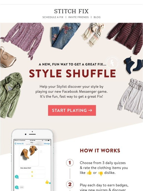 Stitch Fix: You're Invited: Try Our Style Game, Now in Beta | Milled