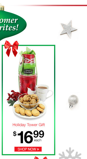 Holiday Tower Gift