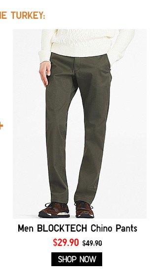 Men - BLOCKTECH Chino Pants NOW $29.90 - Shop Now