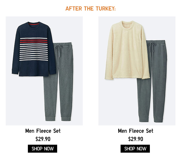 AFTER THE TURKEY- Fleece Sets - Shop Now