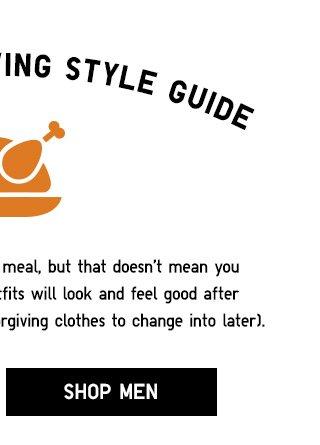 Your Thanksgiving Style Guide - Shop Women - Shop Men