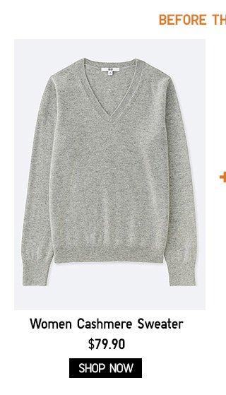 WOMEN - Cashmere Sweater - Shop Now