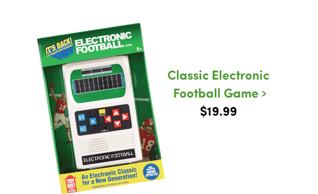 Classic Electronic Football Game ›