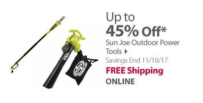 Sun Joe Outdoor Power Tools