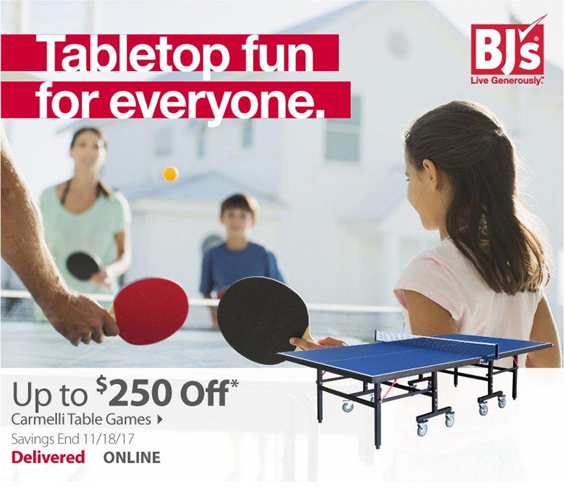 Tabletop fun for everyone