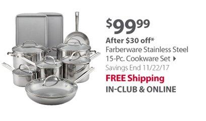 Farberware Stainless Steel 15-Pc.