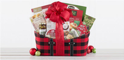 Up to $20 off Holoiday Gift Baskets