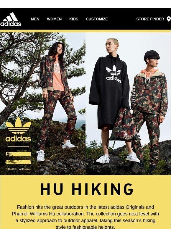 adidas: adidas pharrell williams hu escursionismo zigrinato originali