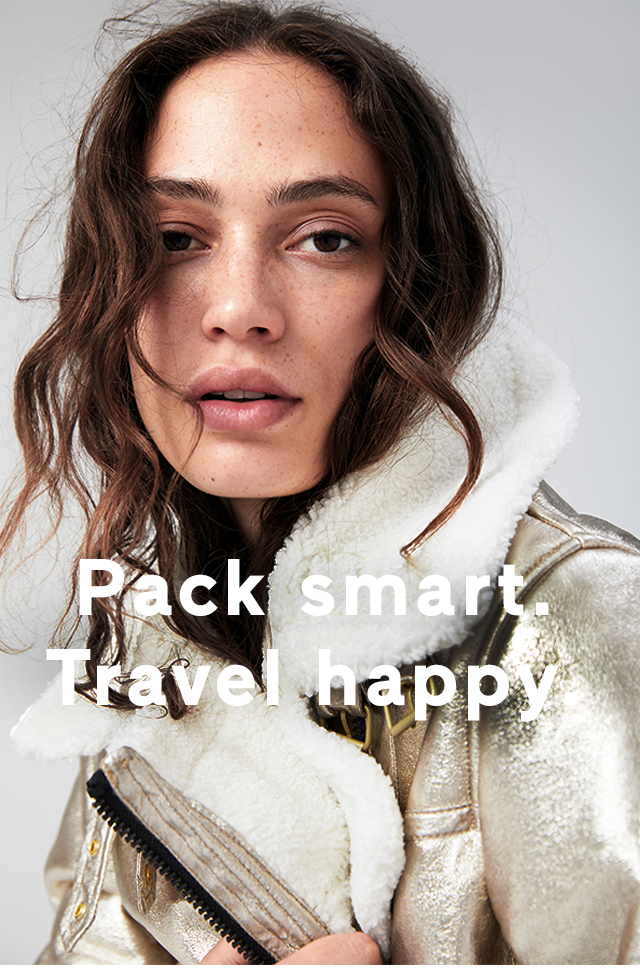 Pack smart.Travel happy.