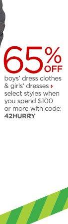 boys dress clothesa nd girls dresses