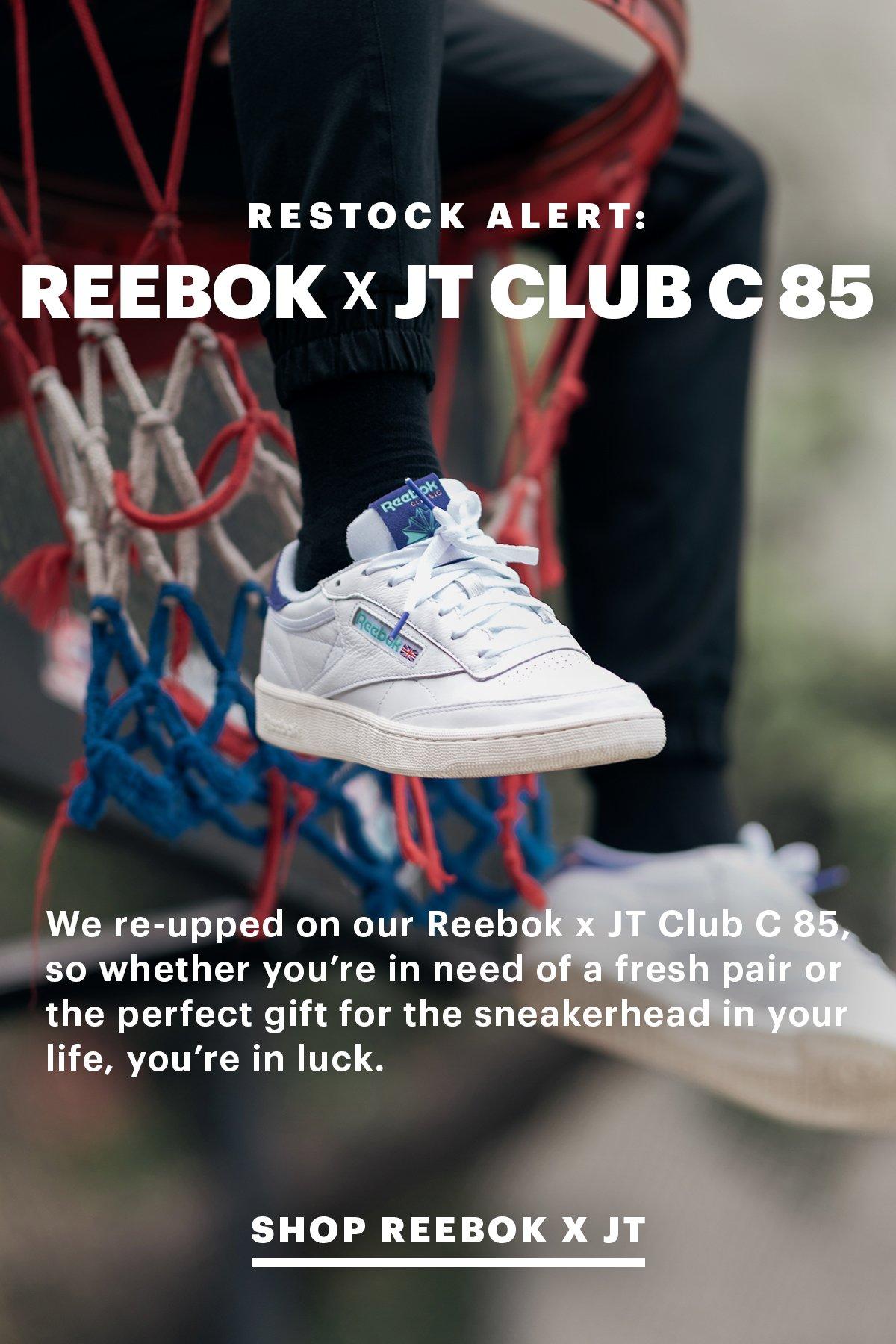 Restock Alert: X JT Club C 85